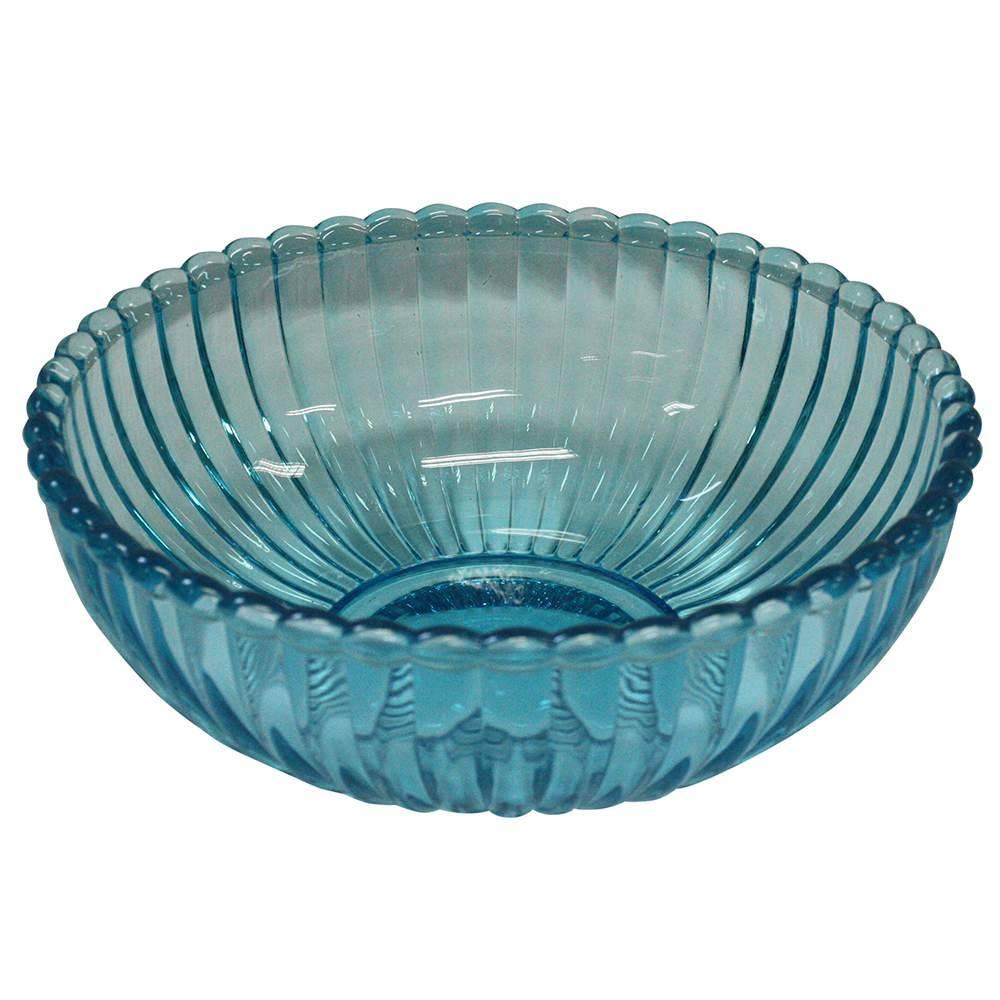 Bowl Tangerine Azul em Vidro - Urban - 19,5x7,5 cm