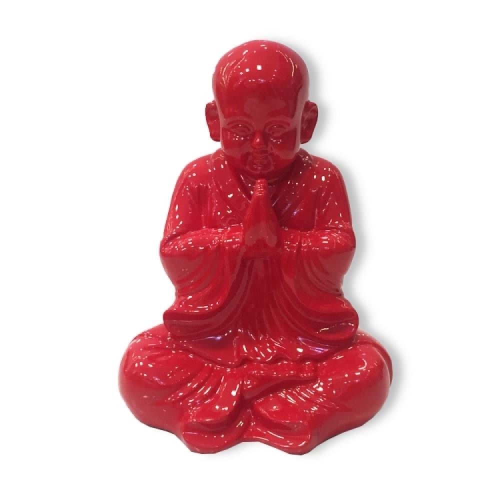 Buda grande vermelho