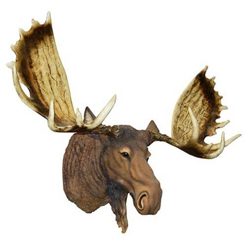 Cabeça de Moose (Alce) em Resina Oldway - 90x106x54 cm