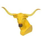 Cabeça de Touro Yellow Design Fullway - 70x44 cm