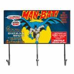 Cabideiro DC Comics Batman And The Moon Amarelo em Vidro - Urban - 40x24 cm