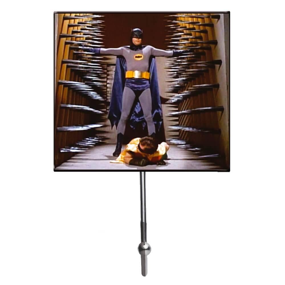 Cabideiro DC Comics Movie Batman And Robin Pin Walls em Vidro - Urban - 21x13 cm