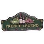 Cabideiro French Legend Oldway 4 Ganchos