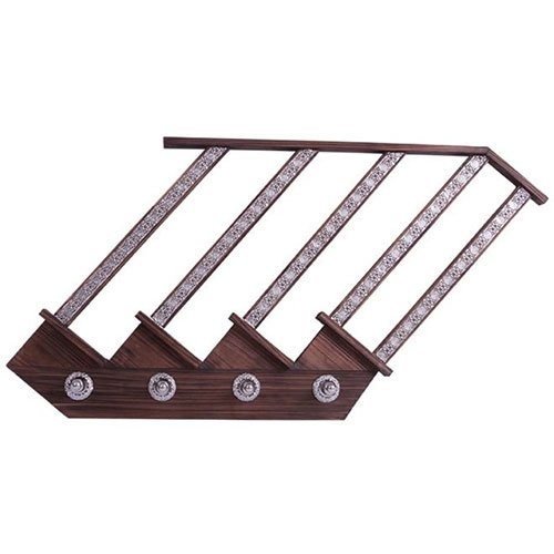 Cabideiro Ladder Bali em Metal - 73x56 cm