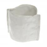 Cachepô Moddy Branco Médio em Cerâmica - 20x17 cm