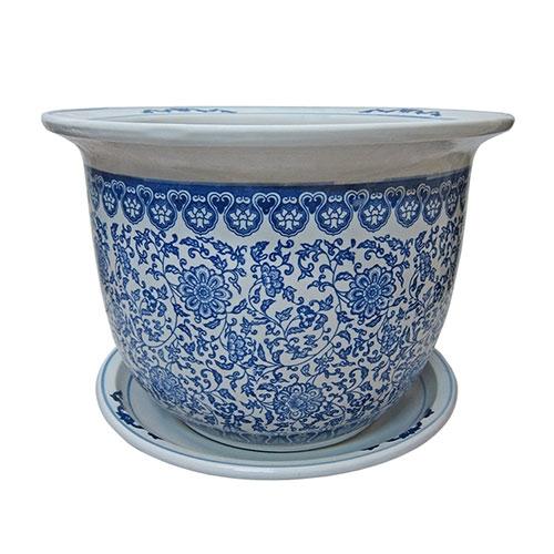 Cachepô Soho Pequeno em Cerâmica - 21x15 cm