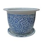 Cachepô Wan Chai Médio em Cerâmica