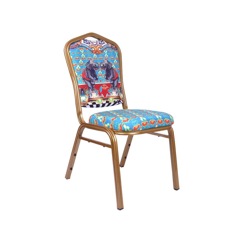 Cadeira Abracadabra Elefante em Tecido - 92x48 cm