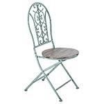 Cadeira Azul Antique Oldway - 95x40 cm