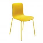 Cadeira Love Decor Amarela - 78,5x51 cm