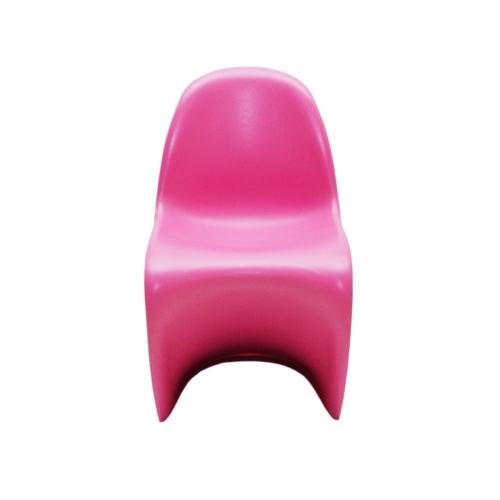 Cadeira Panton Kids Pink em ABS - 56x33 cm
