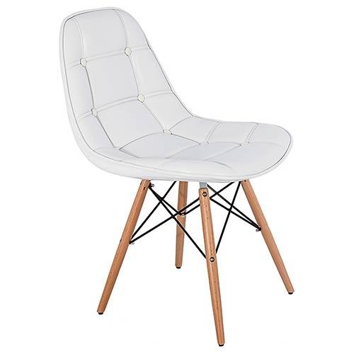 Cadeira Pé Palito Vermelha Brilho Fullway - 85x52 cm