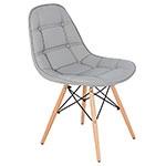 Cadeira Pé Palito Cinza Fullway
