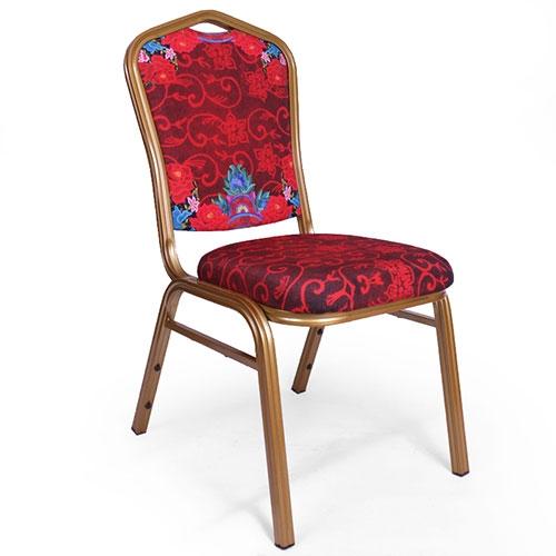 Cadeira Pin UP Vermelha em Aluminio e Tecido - 92x48 cm