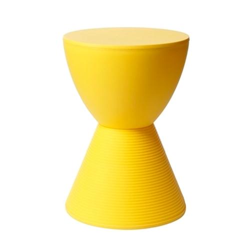 Cadeira Prince Aha-tub Amarela em Polipropileno - 42x30 cm