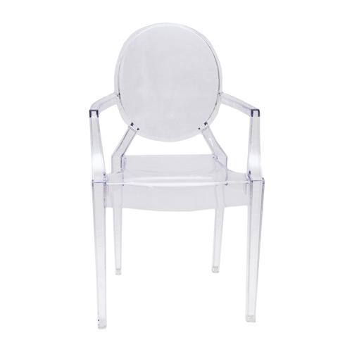 Cadeira Queen Kids em Policarbonato - 65x37 cm