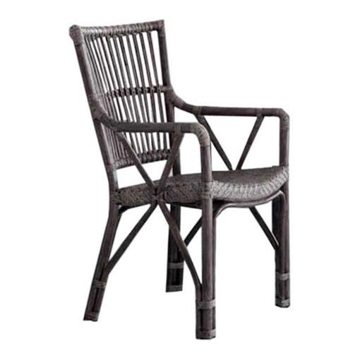 Cadeira Taupe Piano em Rattan Natural - 93x54 cm
