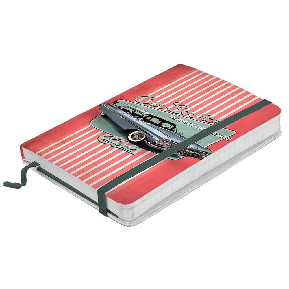 Caderneta de Anotação GM Fish Tail Fundo Rosa - Urban - 14x9,5 cm