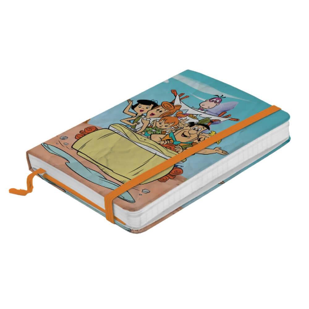 Caderneta de Anotação Hanna Barbera Flintstones Family In a Car Colorido - Urban - 21x14 cm