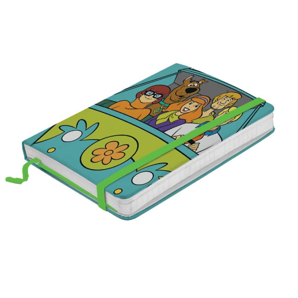 Caderneta de Anotação Hanna Barbera Scooby Everybody In The Mistery Machine Colorido - Urban - 21x14 cm