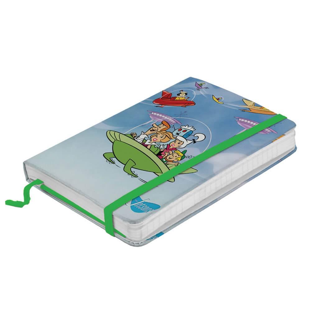 Caderneta de Anotação Hanna Barbera The Jetsons Family In The Spacechip - Urban - 21x14 cm