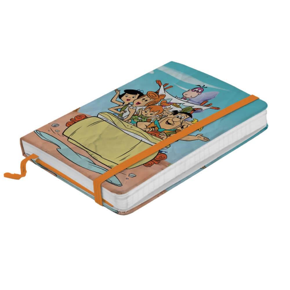 Caderneta de Anotações Hanna Barbera Flintstones In a Car Colorido - Urban - 14x9,5 cm