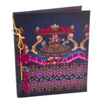 Caderno Abracadabra Carrossel em Tecido