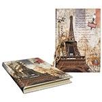 Caderno de Anotação Eiffel Metrô Oldway