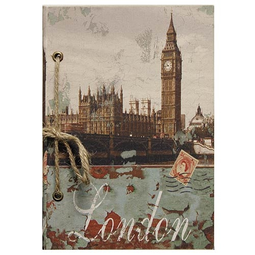 Caderno de Anotação London Big Ben Oldway - 21x14 cm