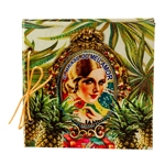 Caderno de Anotações Brasil Chic Abacaxi