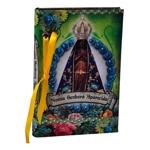 Caderno Nossa Senhora de Aparecida em Tecido