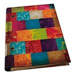 Caderno Patchwork em Tecido
