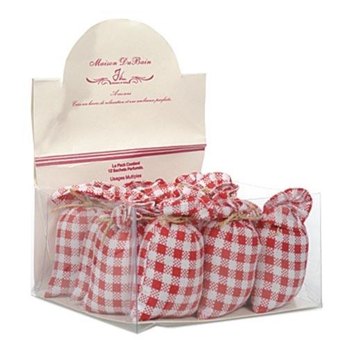 Caixa com 12 Sachês Perfumados - 13x7 cm