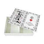 Caixa para Baralho Playng Cards em MDF com Tampa - 15x10,5 cm