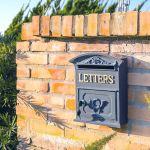 Caixa de Correio Letters Greenway em Metal - 31x27 cm