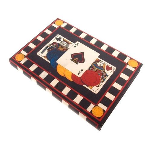 Caixa para Jogos Poker em MDF - 29x20 cm