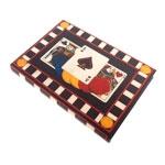 Caixa para Jogos Poker em MDF