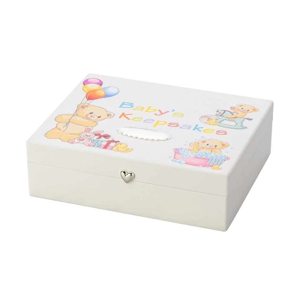 Caixa para Lembranças Baby em MDF - Lyor Classic - 24x19 cm