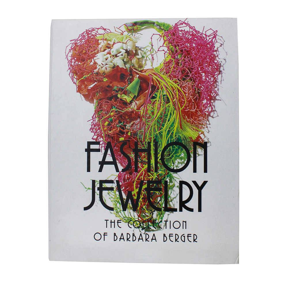 Caixa Livro Fashion Jewelry Fullway Branco em Madeira - 30x24 cm