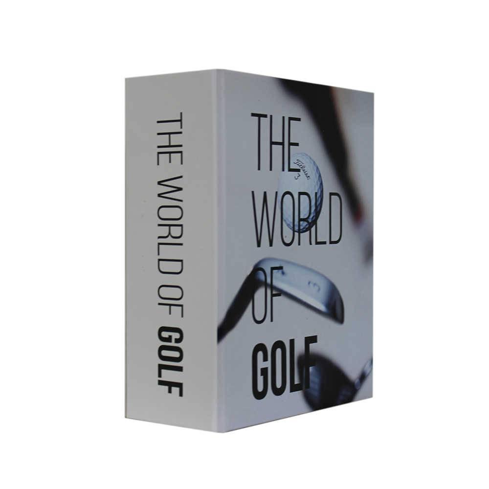 Caixa Livro Mini Golf Fullway em Madeira - 17x13 cm
