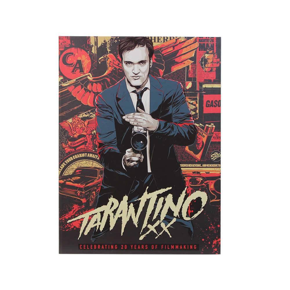 Caixa Livro Tarantino Vermelha Fullway em Madeira - 36x27 cm