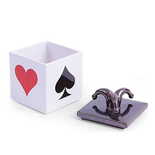 Caixa Naipes Pequeno em Cerâmica - 15x10 cm