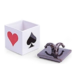 Caixa Naipes Pequeno em Cerâmica