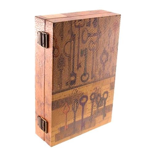 Caixa de Organizadora de Chaves Vintage em MDF - 30x20 cm