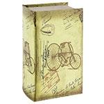 Caixa p/ Lenços Triciclo Retrô Oldway - 25x24x11cm