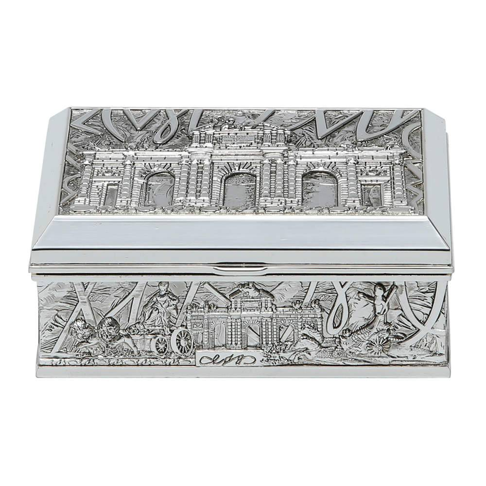 Caixa Porta-Joias Classic em Zinco - Prestige - 12,8x8,4 cm