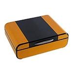 Caixa de Relógios Amarela Goldway - 28x21 cm