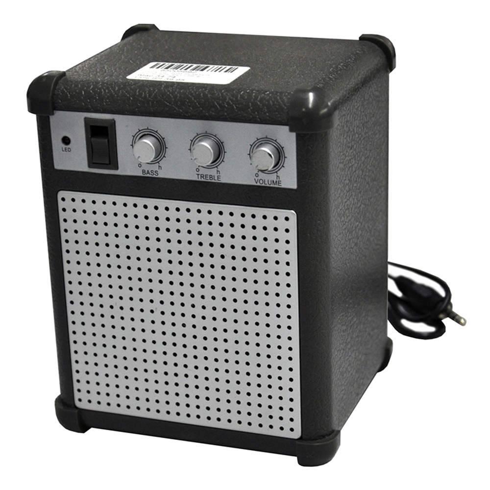 Caixa de Som Boom Box com Entrada USB e Áudio - Urban - 14x11 cm