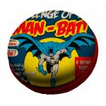 Caixa de Som DC Comics Batman And The Moon Amarelo em EVA - Urban - 8x3 cm