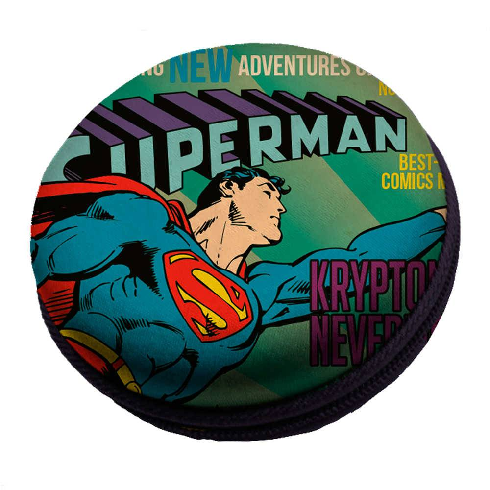 Caixa de Som DC Comics Superman Flying Colorido em EVA - Urban - 8x3 cm
